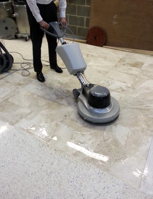 Hard Surface Cleaning Service - Marble Polishing