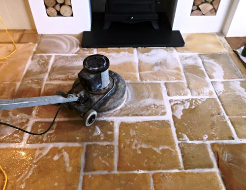 Limestone Floor Cleaning Services