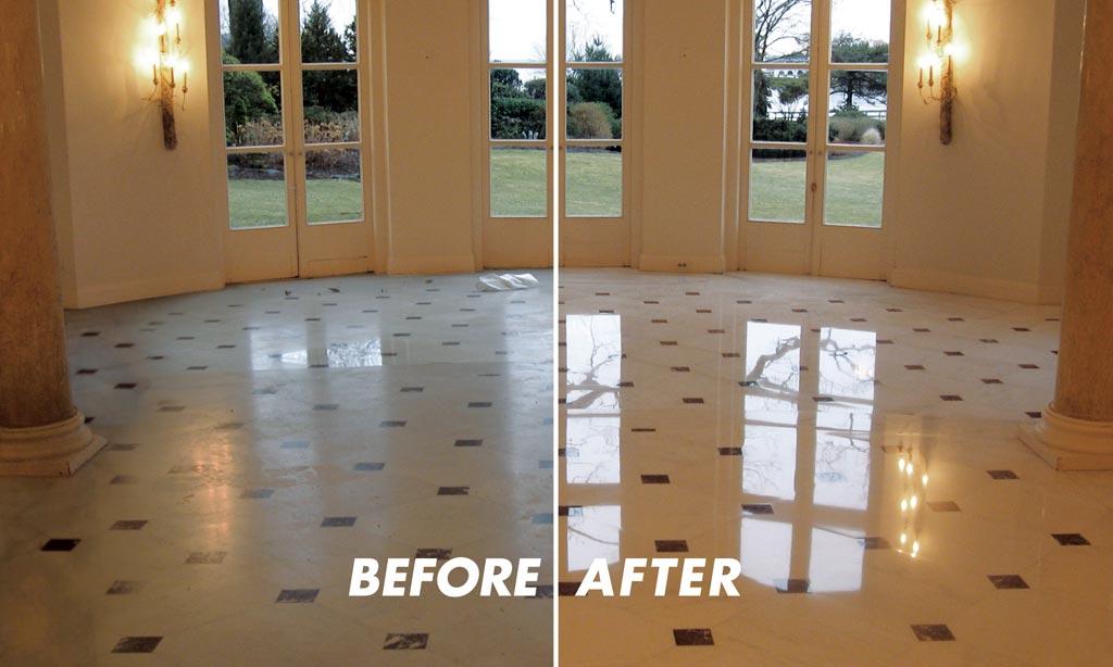Travertine Flooring Polishing Services