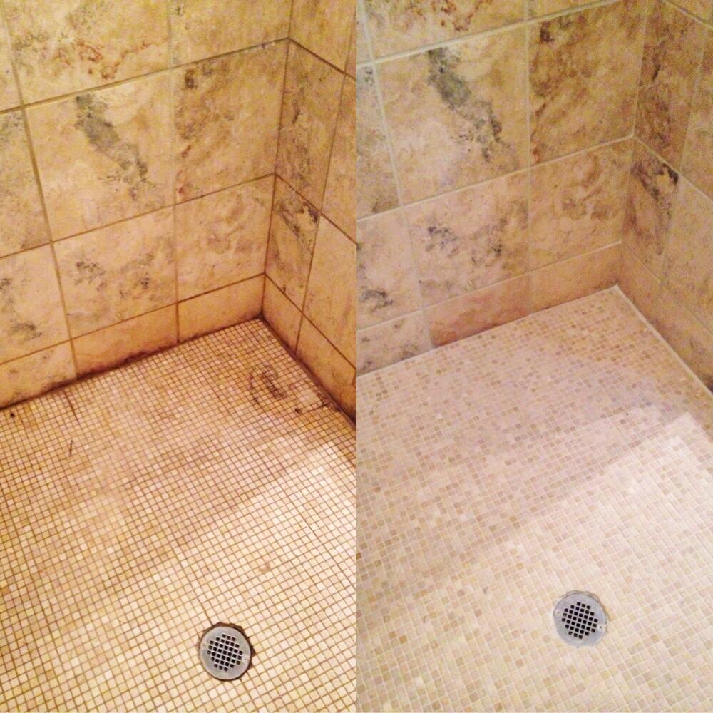 Natural Stone Shower Restoration Servcies